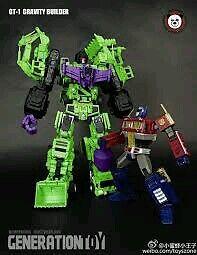 Transformers Generation Toy GT-01 Gravity Builder Devastator Constructicons MISB