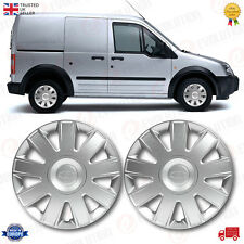 2 X FORD TRANSIT CONNECT WHEEL TRIMS 2002 ONWARDS 15 INCH