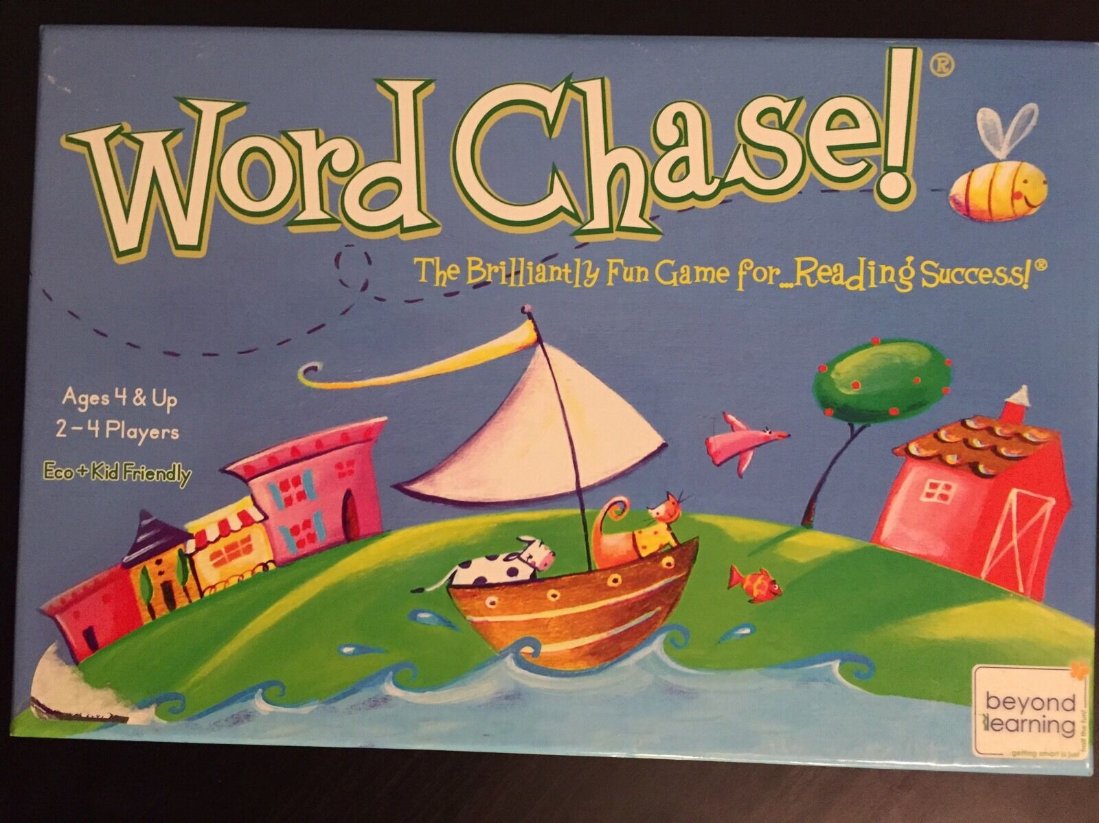 Word Chase Beyond Learning EUC Reading Game