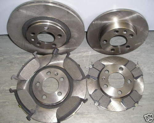 A3 1.6 1.9 FRONT AND REAR BRAKE DISCS /& PADS 1997-2003 NEW COATED DESIGN 1.8