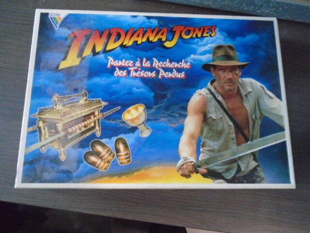 Vintage board game-indiana jones the lost treasures