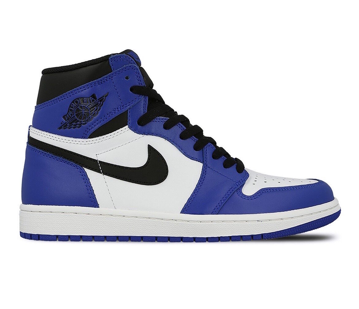 Hommes Nike Air Jordan Retro 1 High OG Game Royal lot Fashion Baskets 555088 403 lot Royal a3d31a