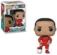 Funko Pop Football 16 Calcio Liverpool Football Club 39920 Virgil Van Dijk