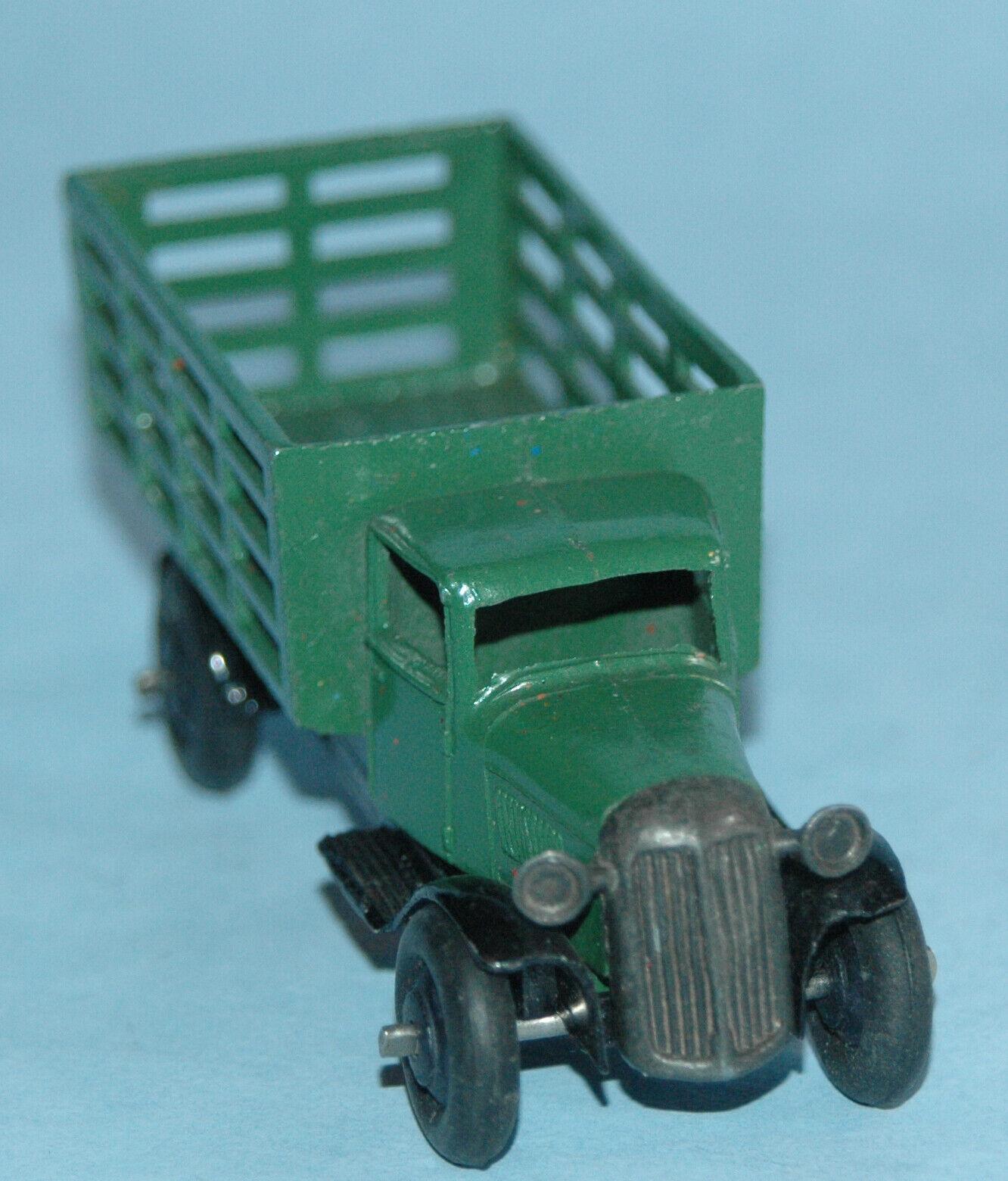 Dinky Meccano Inglaterra Original 1945 b mercado jardineros camión serie 3 verde