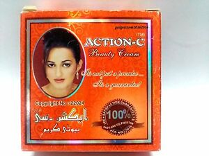 ACTION C BEAUTY CREAM 100% Original Pakistan brand BUY 6 AND GET 1 FREE