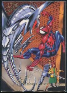 Invasion Of Spider-Slayers #143 The Amazing Spider-Man 1994 Fleer Trading Card