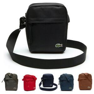 Lacoste Mens Neocroc Canvas Vertical All Purpose Shoulder Bag 25% OFF RRP    eBay