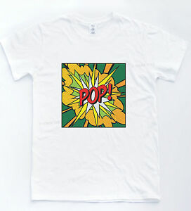 POP-ART-T-Shirt-Retro-Warhol-style-60-S-Indie-Hipster-TV-Cool-Novelty-Tee