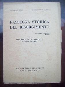 1935-RASSEGNA-STORICA-DEL-RISORGIMENTO-FORLIVESI-IN-CORSICA-LUIGI-MERCANTINI