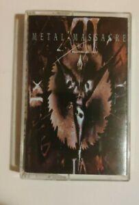 METAL MASSACRE XII 12 CASSETTE TAPE Metal Blade Records CRISIS PAINGOD
