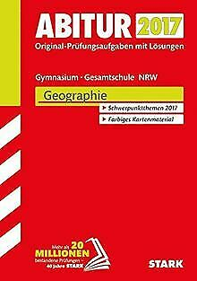 Abiturprüfung Nordrhein-Westfalen - Geographie GK/LK   Livre   état très bon