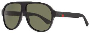 Gucci-Square-Sunglasses-GG0009S-001-Shiny-Black-0009