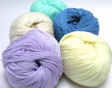 4 Balls Cotton//Acrylic//Nylon Schoeller Stahl Portofino 4739 Baby Blue