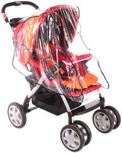 Image is loading Baby-Push-Stroller-Rain-Cover-Resistant-Waterproof-Pram-  sc 1 st  eBay & Baby Push Stroller Rain Cover Resistant Waterproof Pram Chair Buggy ...