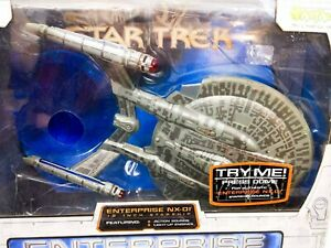 Boxed-2002-Art-Asylum-Star-Trek-12-USS-Enterprise-NX-01-Starship-Fantastic-Cond