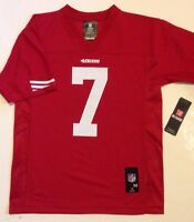 Officially Licensed 7 Colin Kaepernick Nfl Sf 49ers Jersey Youth S M L Xl