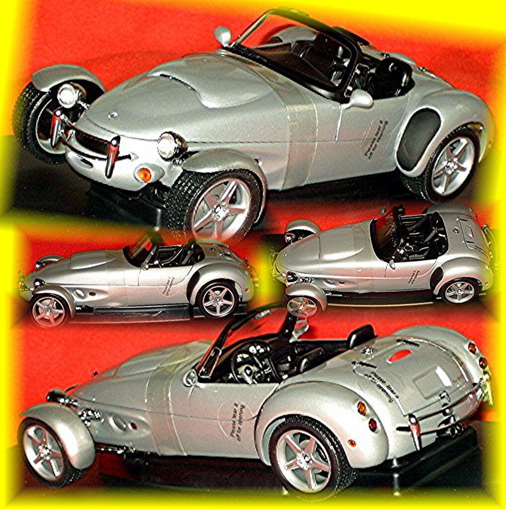 Panoz AIV Roadster 1996-99 argent argent métallique 1 18 AUTOart