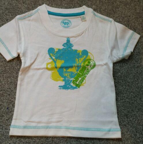 Wimbledon Championships Baby Boys T Shirt Top Size 12-18 months.BRAND NEW.