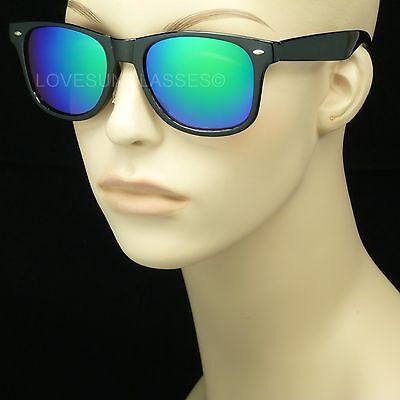 SUNGLASSES RETRO NEW VINTAGE STYLE MEN WOMEN GLASSES NEW HORN RIM NERD