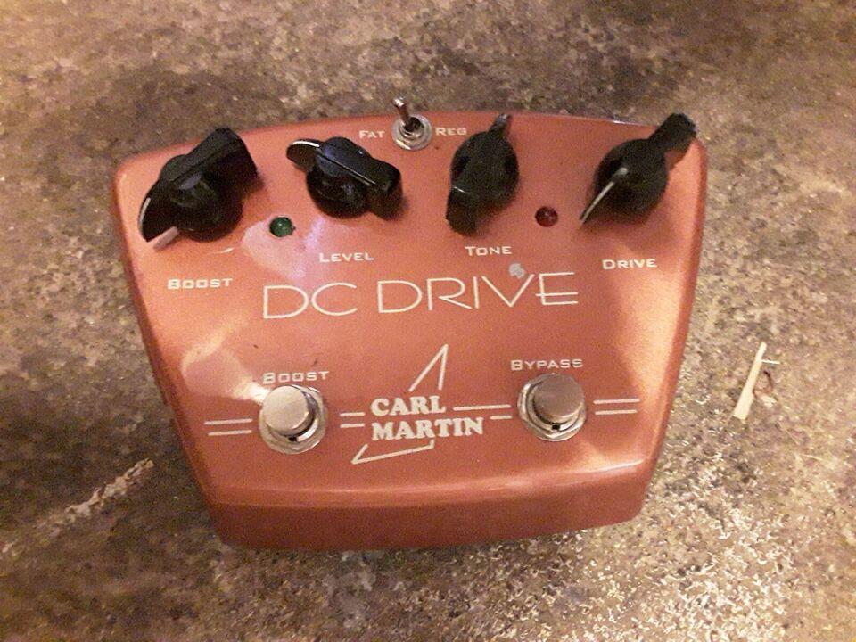 Overdrive/boost, Carl Martin DC Drive