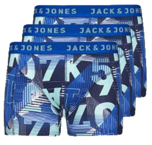 Jack /& Jones Uomo T-Shirt JACK /& JONES uomo 3PACK BAULI
