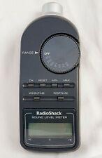 Radio Shack Sound Level Meter Digital 33 2055