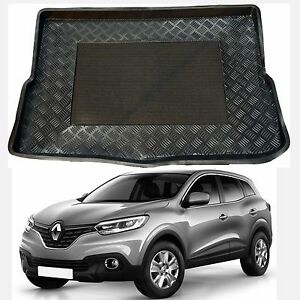 Renault-Kadjar-UPPER-or-LOWER-boot-tray-rubber-load-liner-mat-or-bumper-guard