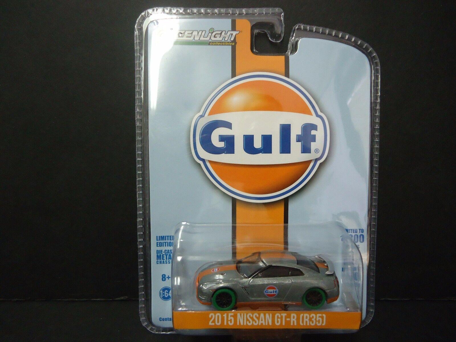 Grünlight - nissan gt - r r 35 zutrifft 2015 gulf oil Grünlight exklusive 1   64 51062 chase