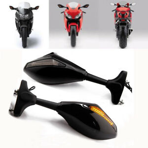 FOR Yamaha FZ6R 2010-2014 LED TURN SIGNAL REARVIEW SIDE RACING ...