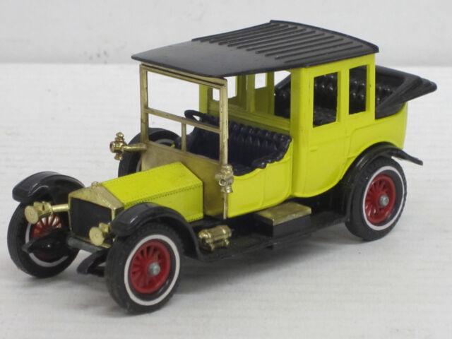 Rolls Royce Limousine in gelb/schwarz, Matchbox, 1:43 ??, ohne OVP