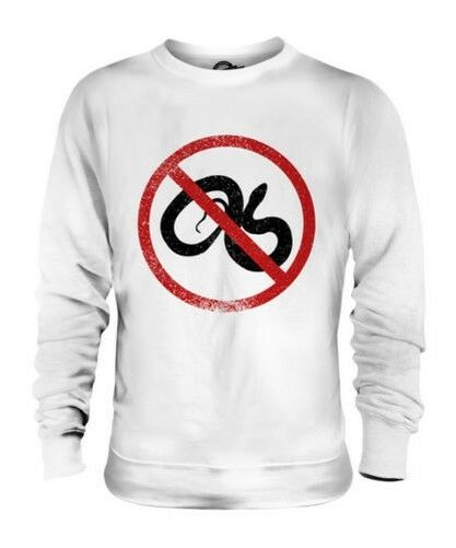 OPHIDIOPHOBIA (FEAR OF SNAKES) UNISEX SWEATER TOP GIFT PHOBIA SCAROT