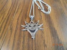 ICP-MIGHTY DEATH POP Stainless steel pendant with 30 inch ball chain