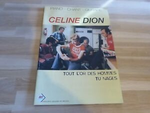 Celine-Dion-Spartito-Tout-Oro-Dei-Uomo-Taglia-Unica-Medley
