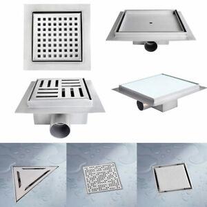 BITUXX-Duschablauf-Abfluss-Duschabfluss-Duschrinne-Ablaufgarnitur-Bodenablauf