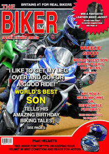 Image Is Loading Mens Biker Motorbike Spoof Birthday Card Son Dad