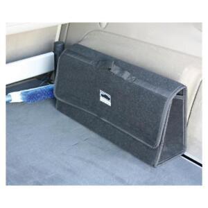 Kofferraumtasche Laderaumtasche mit Klett und Druckknopf schwarz