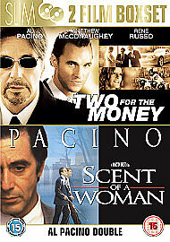 1 of 1 - Two For The Money/Scent Of A Woman (DVD, 2006, 2-Disc Set)