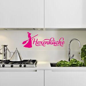 Wandtattoo Küche Sprüche - A348 - Hexenküche   eBay