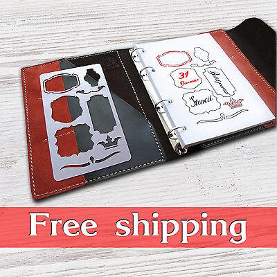 bullet journal accessories, bullet journal stencil, planner stencil,stencils