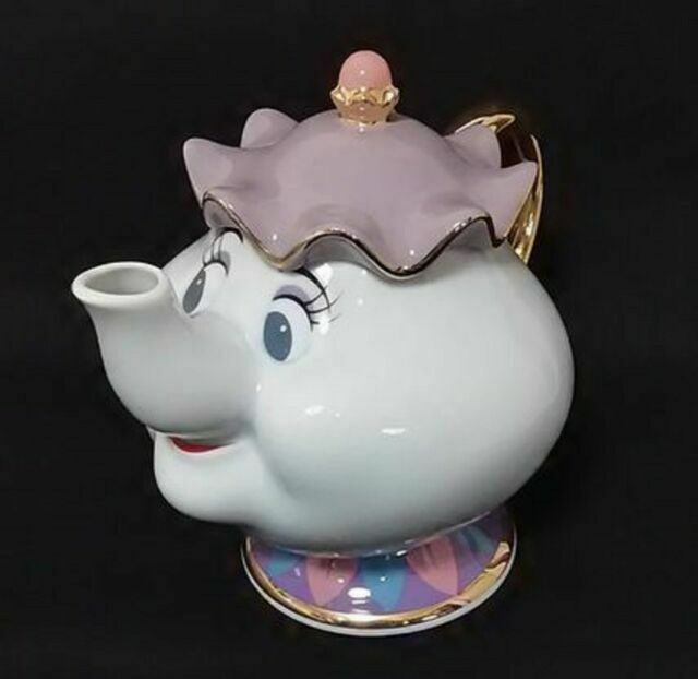 Disney Animation Beauty And The Beast Tea Pot With Metal Filter 880ml