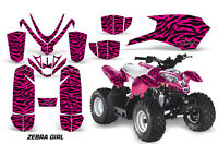 Polaris Outlaw 50 Amr Racing Graphic Kit Wrap Quad Decal Atv All Years Zebra