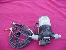 SHURFLO DIAPHRAGM PUMP 8050-204-133 12v 30 PSI & FITTINGS