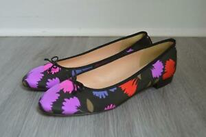 JCrew-168-Kiki-Ballet-Flats-in-Painted-Pansy-Sz-9-Warm-Multi-Shoes-F8149
