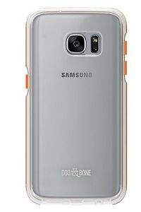 Dog-amp-Bone-Splash-Case-For-Samsung-Galaxy-S7-Clear-Orange