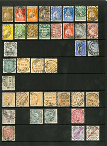 Portugal-Colonies-Stamps-Rare-38-Pc-Classic-Stamp-Collection