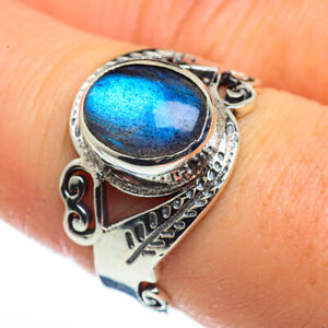 Labradorite 925 Sterling Silver Ring Size 8 Ana Co Jewelry R45728F
