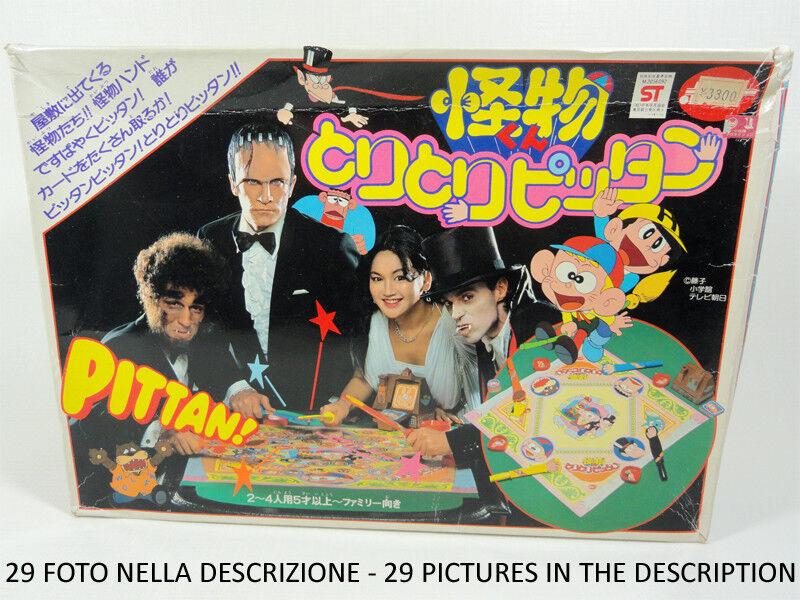 CARLETTO IL PRINCIPE DEI MOSTRI - TORI TORI PITTAN GAME POPY 1981 NUOVO MAZINGA