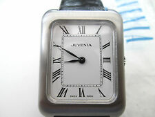 vintage mid sized juvenia watch, mechanical,  decent condition,   runs