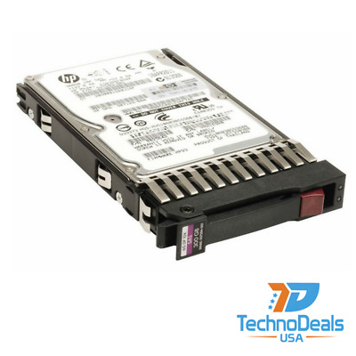 HP 507284-001 300GB Hot-Swap Dual Port Serial Attached Hard Drive