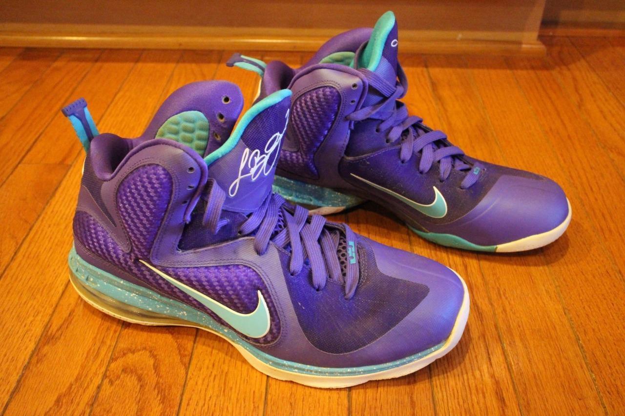 Nike Hornets LeBron 9 Summit Lake Hornets Nike hombres zapatos talla (sn100 00bdcc